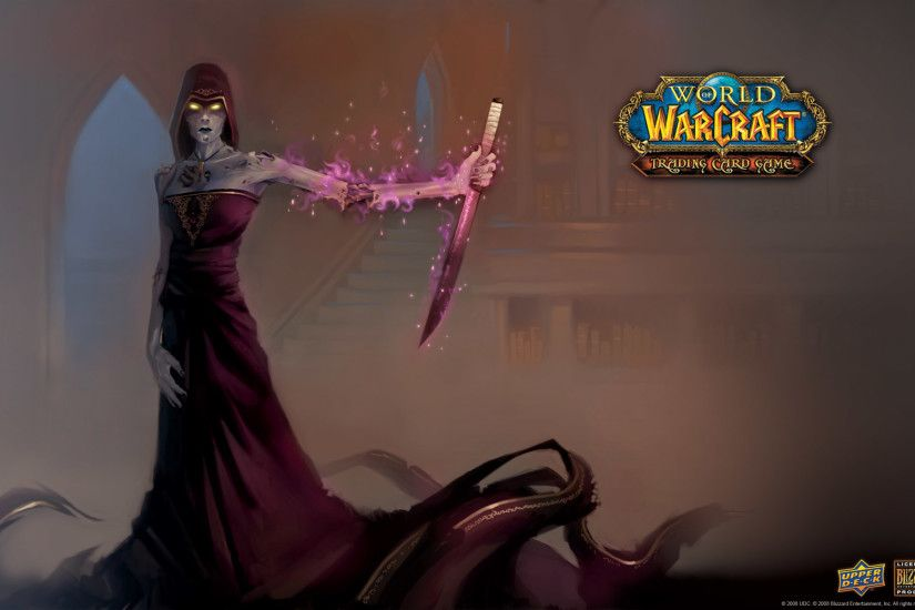 World of warcraft, wallpapers, wallpaper, autumn, priest, undead, vault