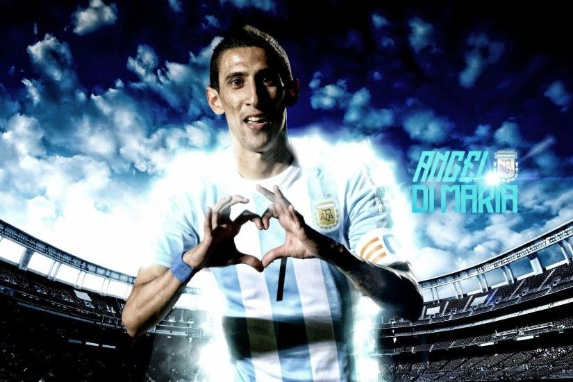 Angel Di Maria Wallpapers High Resolution and Quality Download