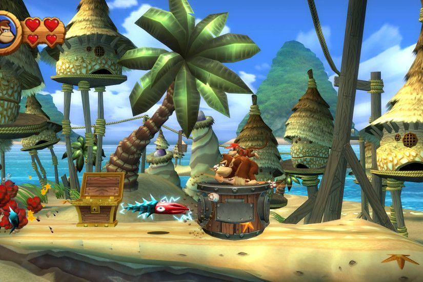 Video Game - Donkey Kong Country Returns Wallpaper