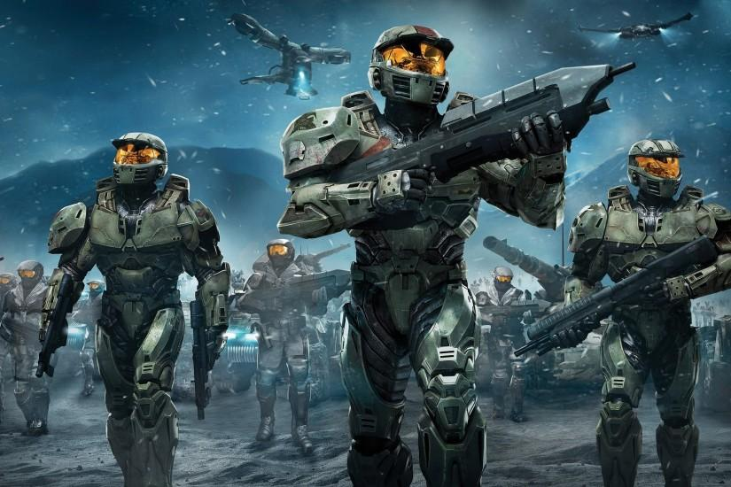 halo, soldier, weapon, gun, spartans, halo wars