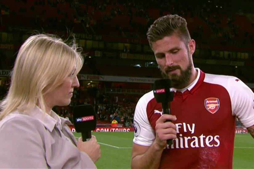 Arsenal's Olivier Giroud says his side kept the faith as he scored a late  winner to beat Leicester City 4-3 in the Premier League