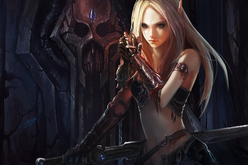 3000x1875 World of Warcraft Sylvanas Dark Lady Wallpapers HD / Desktop and  Mobile Backgrounds