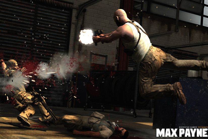 Some awesome wallpapers for the upcoming game Max Payne 3.