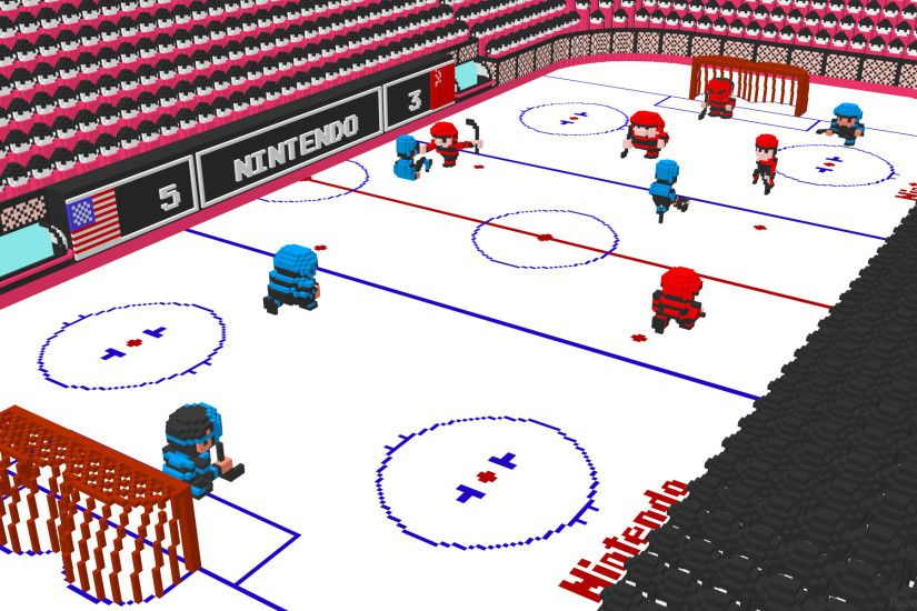 Video Game - Ice Hockey Nintendo 8-Bit Wallpaper