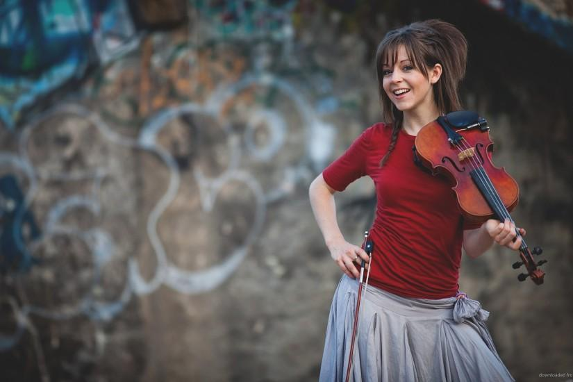 Cute Lindsey Stirling for 1920x1080