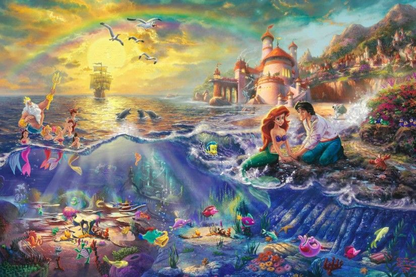 Thomas Kinkade Disney 596466 ...