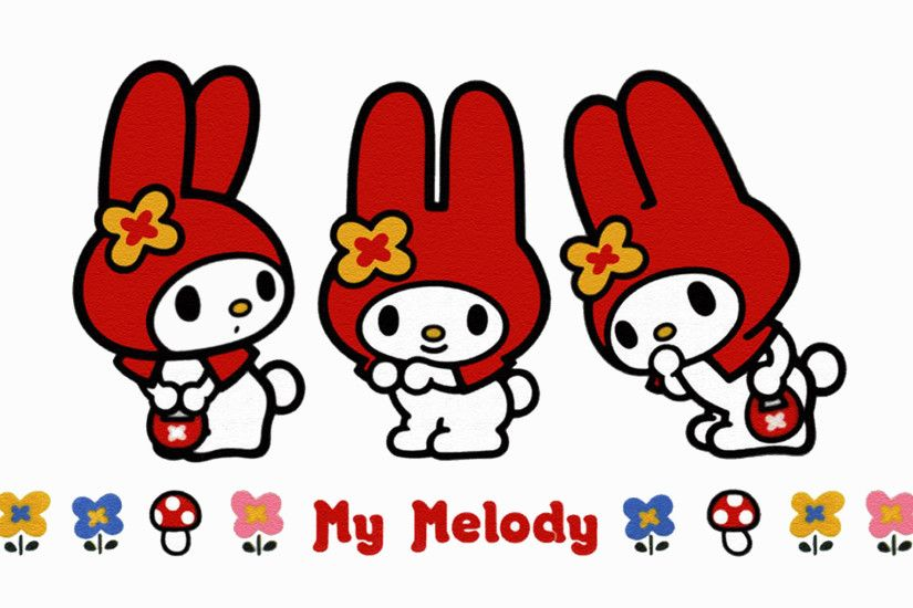 My Melody triple 1920×1200