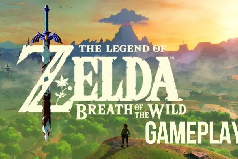 the legend of zelda breath of the wild gameplay - youtube
