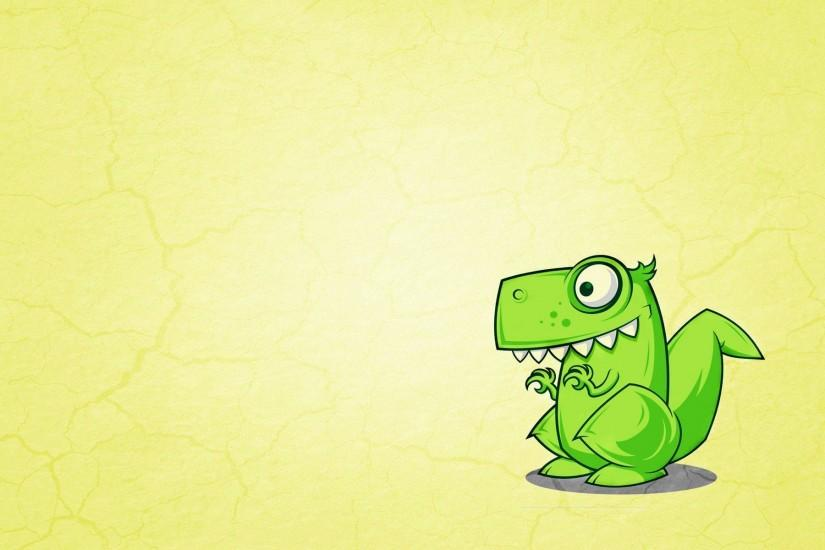 Wallpapers For > Cute Dinosaur Background