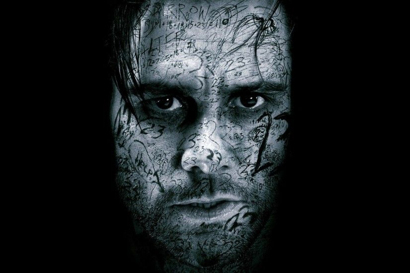 Jim Carrey Wallpaper · Ghost_Face_of_Jim_Carrey_in_Black_Background