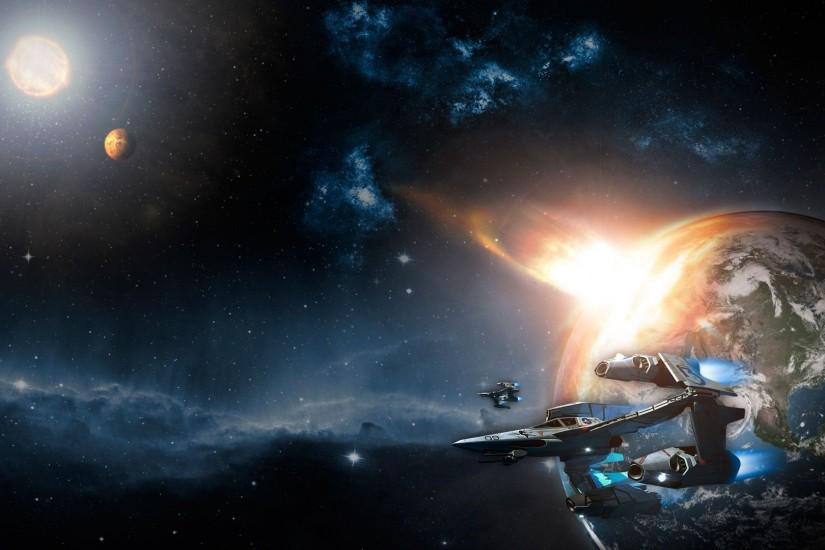 Space Ship Wallpapers 61086 Wallpaper | wallpicsize.