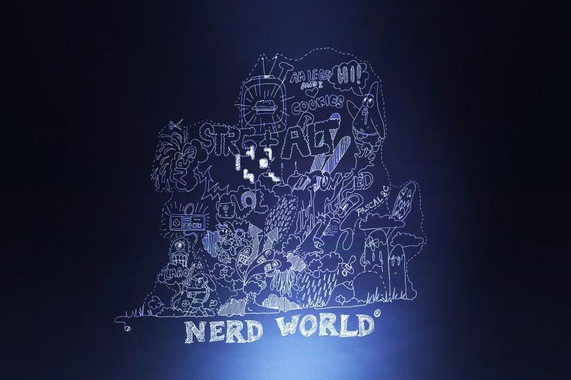 Theme Bin» Blog Archive » Nerd World HD Wallpaper