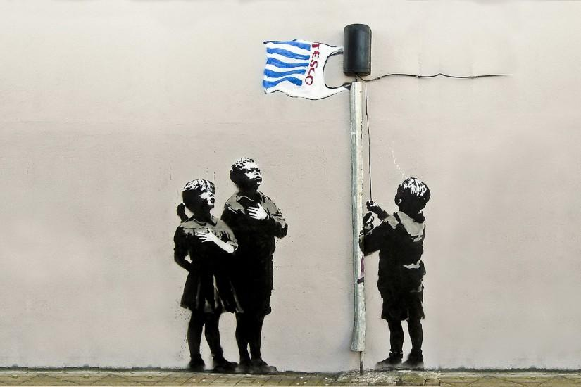 Banksy Hd Wallpaper: Banksy Wallpaper ·① Download Free Full HD Backgrounds For