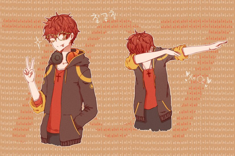 seven (mystic messenger) by jasminnnie on DeviantArt
