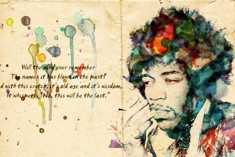 ... daily wallpaper jimi hendrix i like to waste my time ...