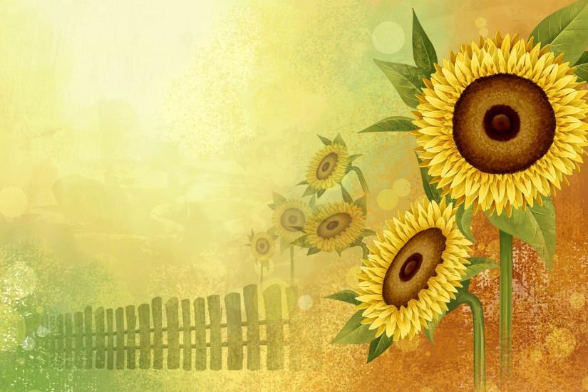 sunflower wallpaper 1920x1200 windows