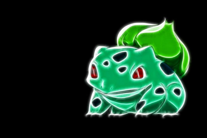 001 bulbasaur - fractal pokemon wallpapers