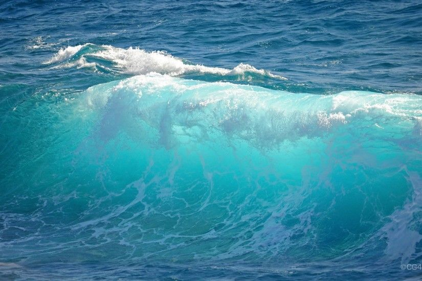 turquoise ocean | Desktop, wallpaper, photo, background, wave, stock, ocean