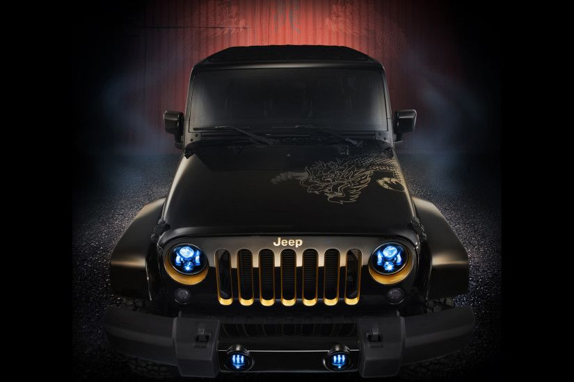 Previous: 2012 Jeep Wrangler Dragon Design Concept Static ...