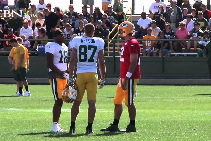 NFL Receiver Jordy Nelson Shares How Farming Prepared Him for Football -  YouTube