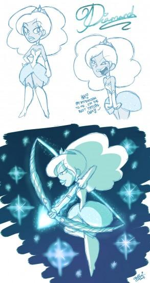 Steven Universe: Diamond by PrincessCallyie Steven Universe: Diamond by  PrincessCallyie