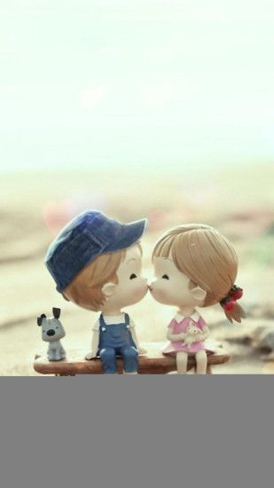 2054 9 Cute Cartoon Kissing Anime Couple Wallpapers For Mobile