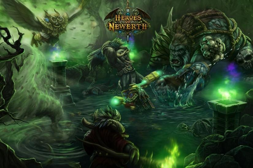 Preview wallpaper world of warcraft, heroes of newerth, characters, energy  1920x1080