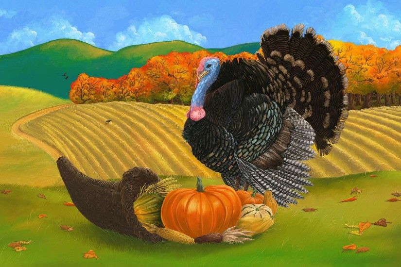 Beautiful-Turkey-Image-Painting-for-Thanksgiving-2014