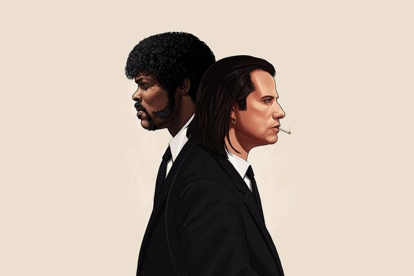Mike Mitchell's Pulp Fiction [1920x1080] ...