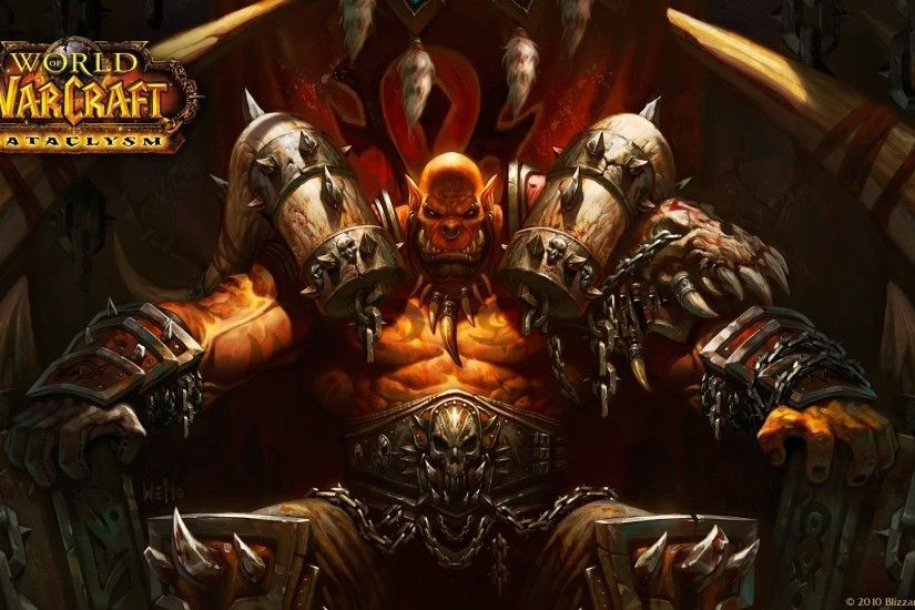 1920x1080 world of warcraft world of warcraft cataclysm orcs wallpaper and  background JPG 458 kB