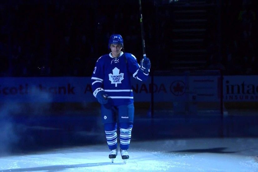 Toronto Maple Leafs 99th Season Opener - Player Introductions - Oct 7th  2015 (HD) - YouTube