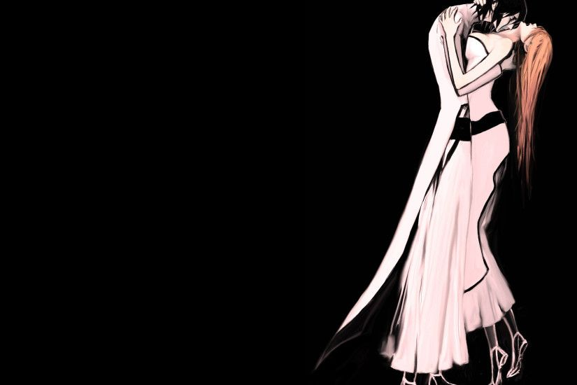 Anime - Bleach Ulquiorra Cifer Orihime Inoue Wallpaper