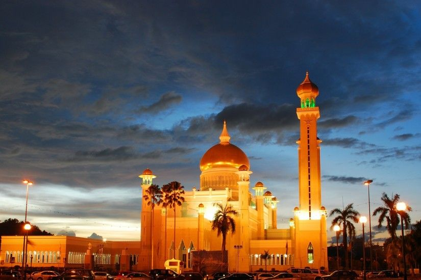 Mosque in Night