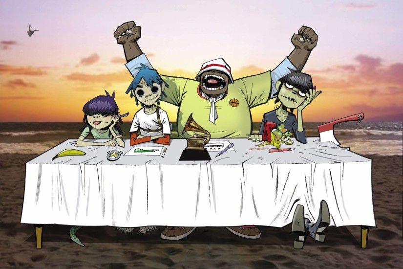 'Gorillaz' Animated Series Set To Come Out In 2018 - Konbini Nigeria