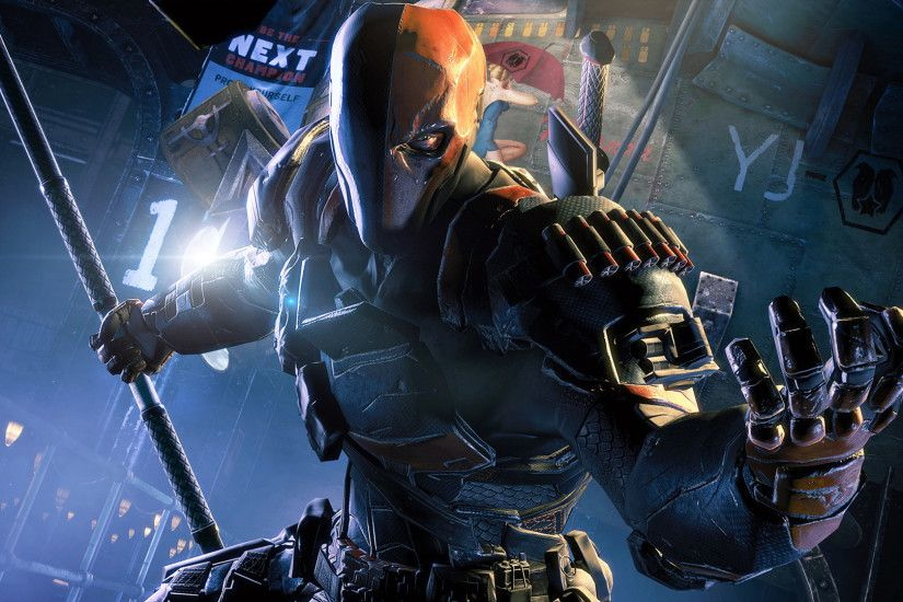 Deathstroke - Batman: Arkham Origins [2] wallpaper
