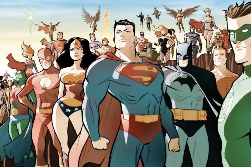 cool dc comics wallpaper 1920x1080