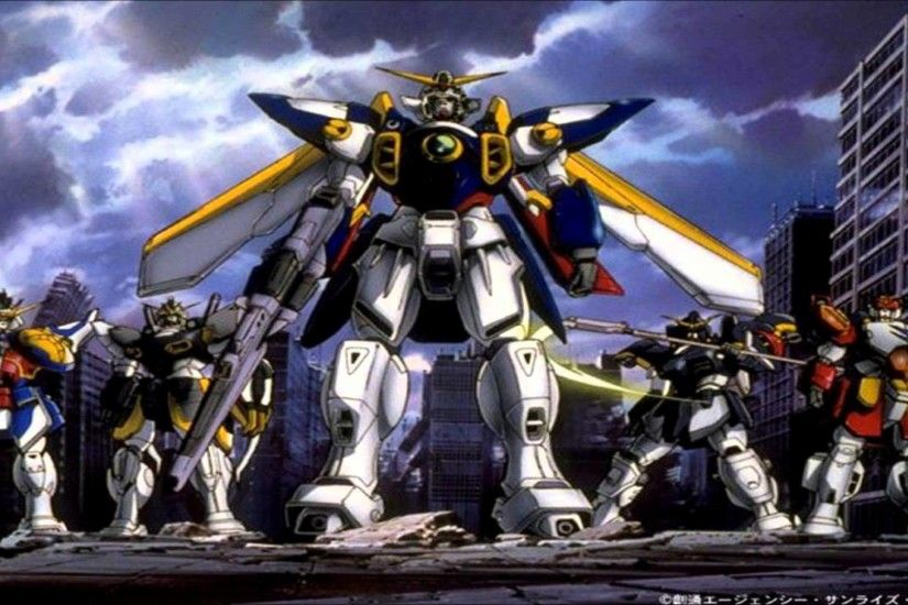 Wallpapers For > Gundam Wing Endless Waltz Wallpaper