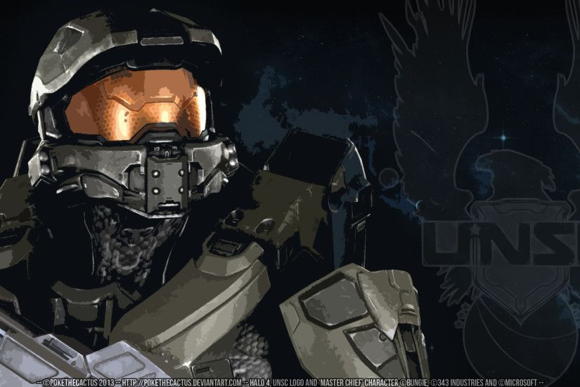 ... HALO 4 [] - [] Master Chief HD Wallpaper [] by