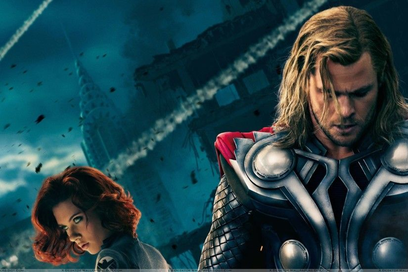 "You are viewing wallpaper titled ""The Avengers – Chris Hemsworth ..."