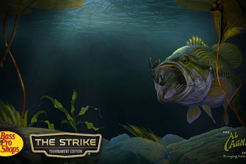 Bass fishing wallpaper backgrounds for Bass pro shop fishing games