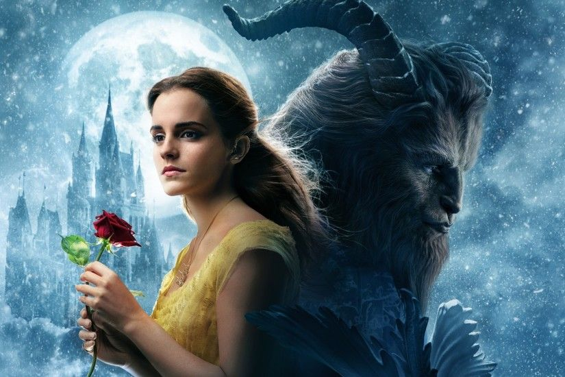 Emma Watson Beauty and the Beast for Wallpaper Size 1920×1080