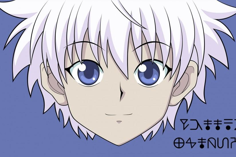 Another Wallpaper I Made (This time with Killua!)