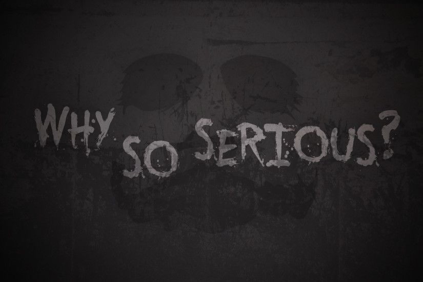 WALLPAPER by Orakleh [ORAKLEH] THE JOKER/ WHY SO SERIOUS? WALLPAPER by  Orakleh