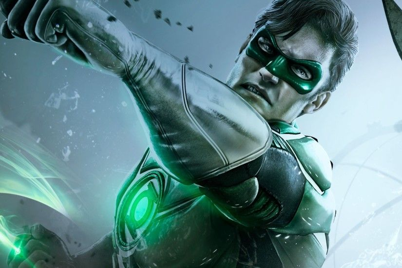 Preview wallpaper injustice gods among us, netherrealm studios, green  lantern 3840x2160