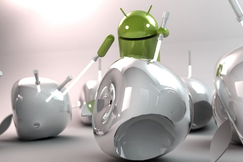 Android Injecting Apple HD Stylish Wallpapers