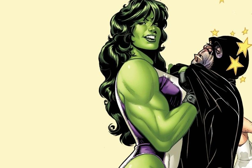 Comics - She-Hulk Wallpaper
