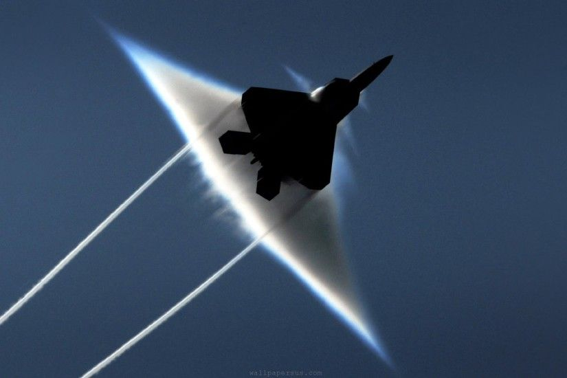 F 22 Raptor Jet Fighter Aircraft HD Wallpapers