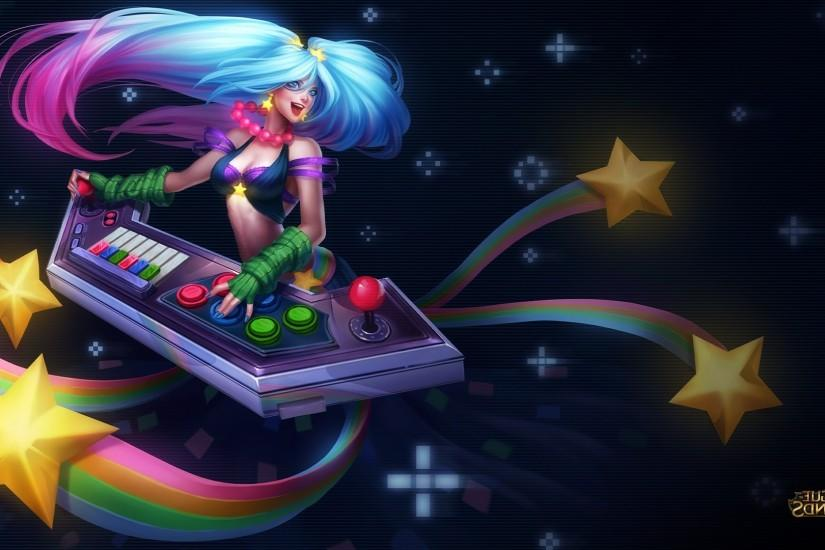 League Of Legends, Arcade, Sona Wallpaper HD