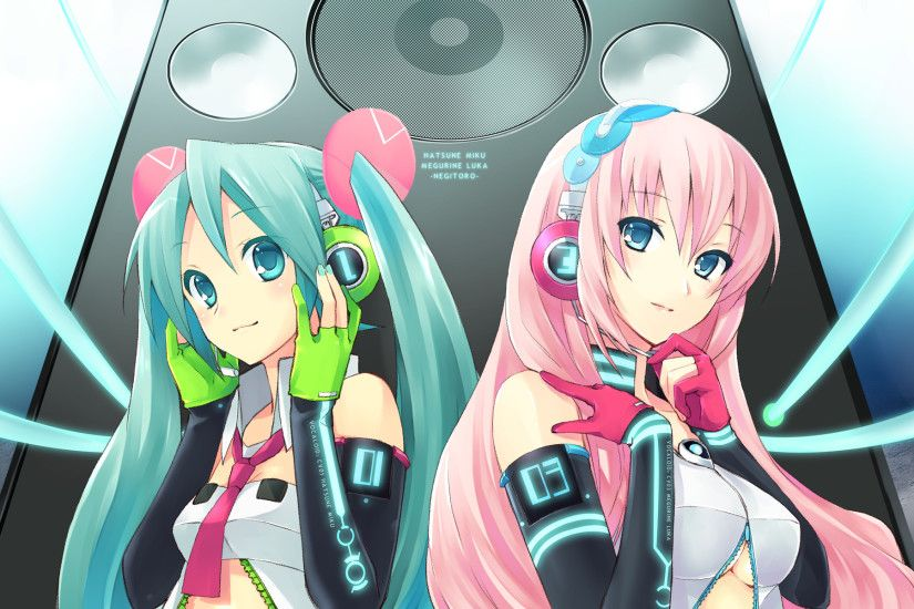 Hatsune Miku Luka Megurine · HD Wallpaper | Background ID:84427