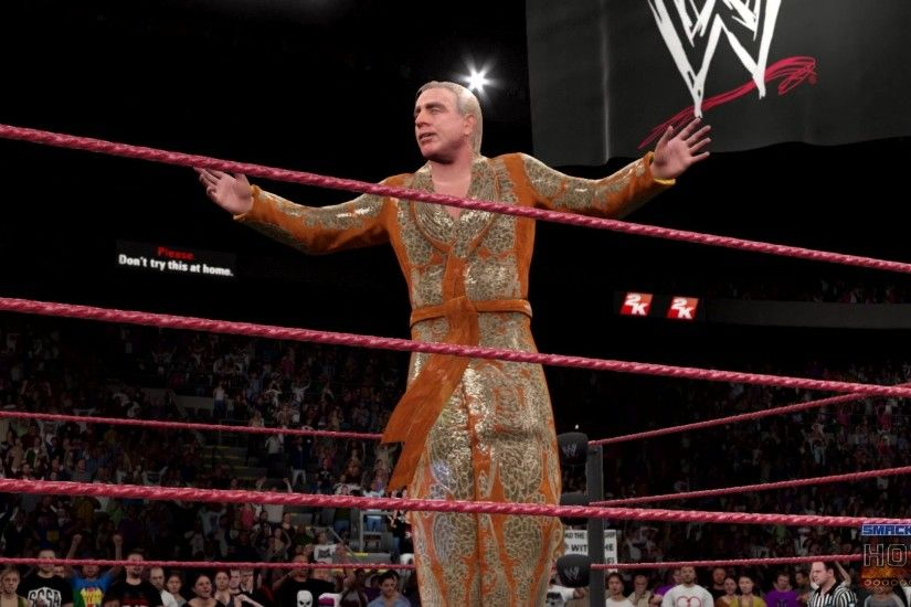 WWE2K16 SweetChinMusic WWE2K16 Launch RicFlair